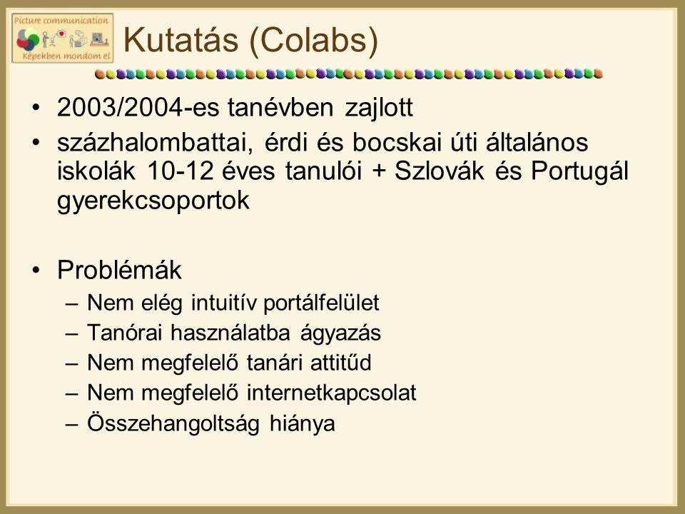 Kutatás (Colabs) 2003/2004-es tanévben zajlott