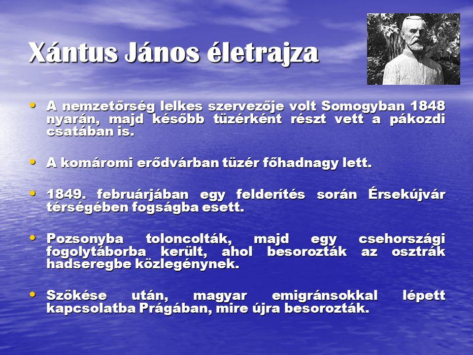 Xántus János életrajza