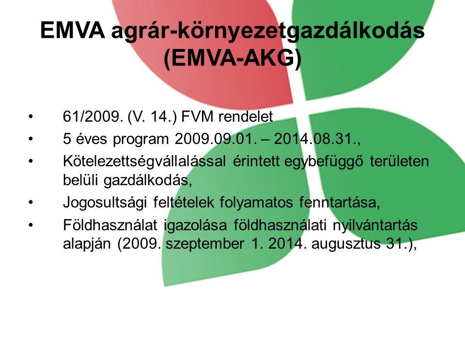 EMVA agrár-környezetgazdálkodás (EMVA-AKG)