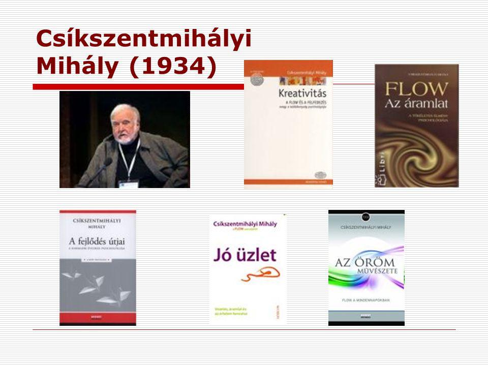 Csíkszentmihályi Mihály (1934)