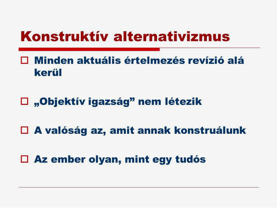 Konstruktív alternativizmus