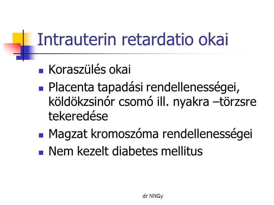 Intrauterin retardatio okai