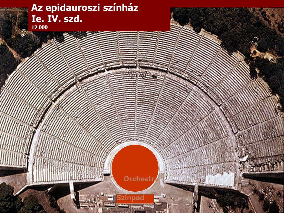 Az epidauroszi színház Ie. IV. szd.