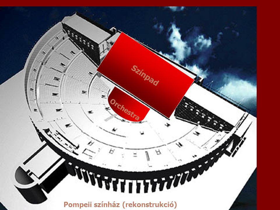 Színpad Orchestra Pompeii színház (rekonstrukció)