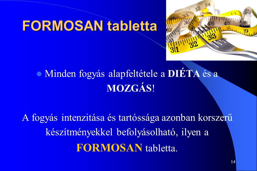 FORMOSAN tabletta FORMOSAN tabletta.