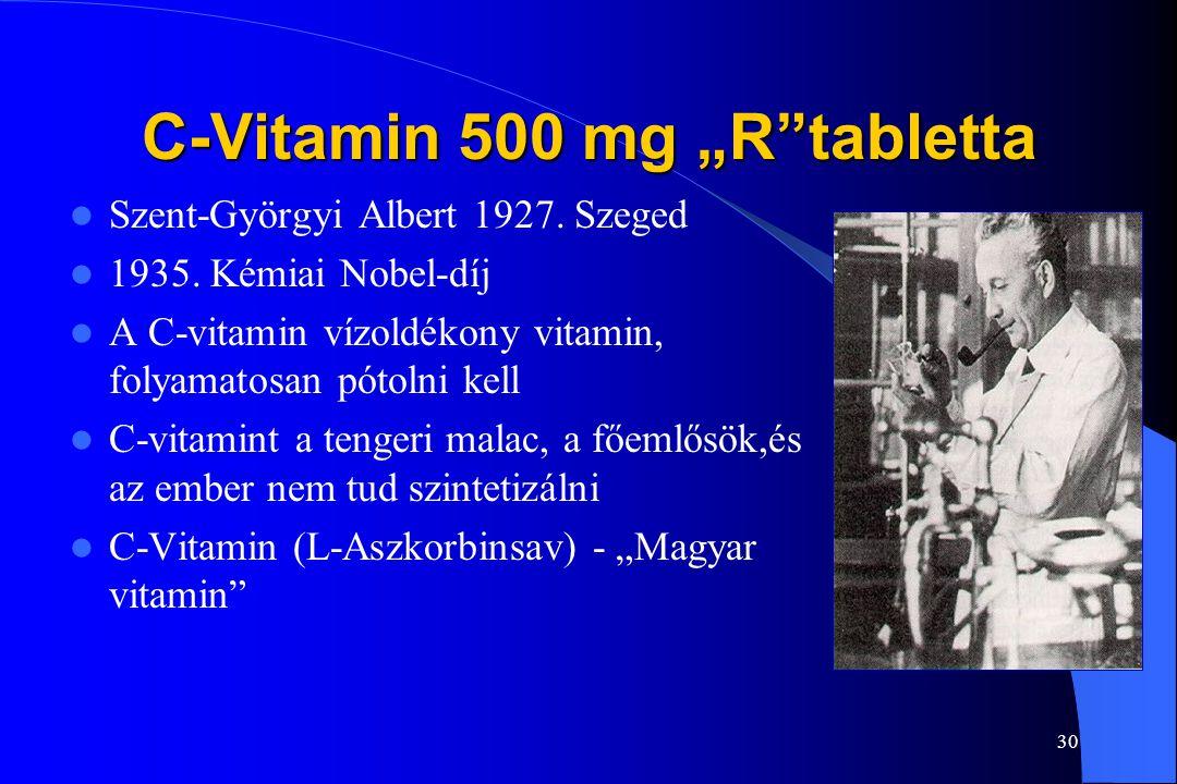"""C-Vitamin 500 mg """"R tabletta"""