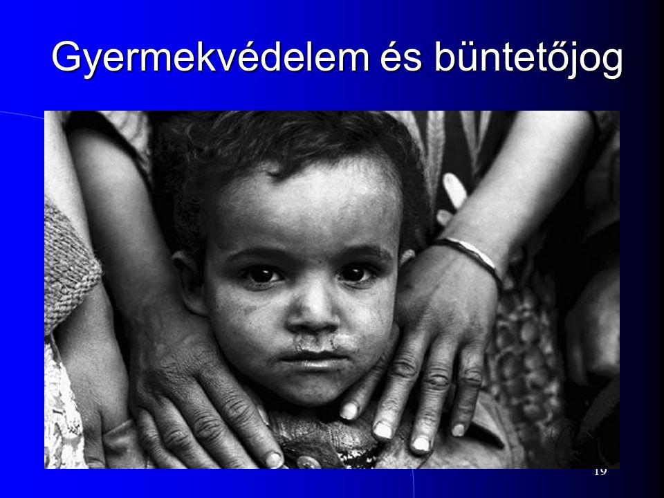 Gyermekvédelem és büntetőjog
