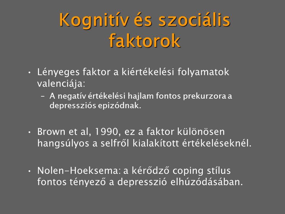 Kognitív és szociális faktorok