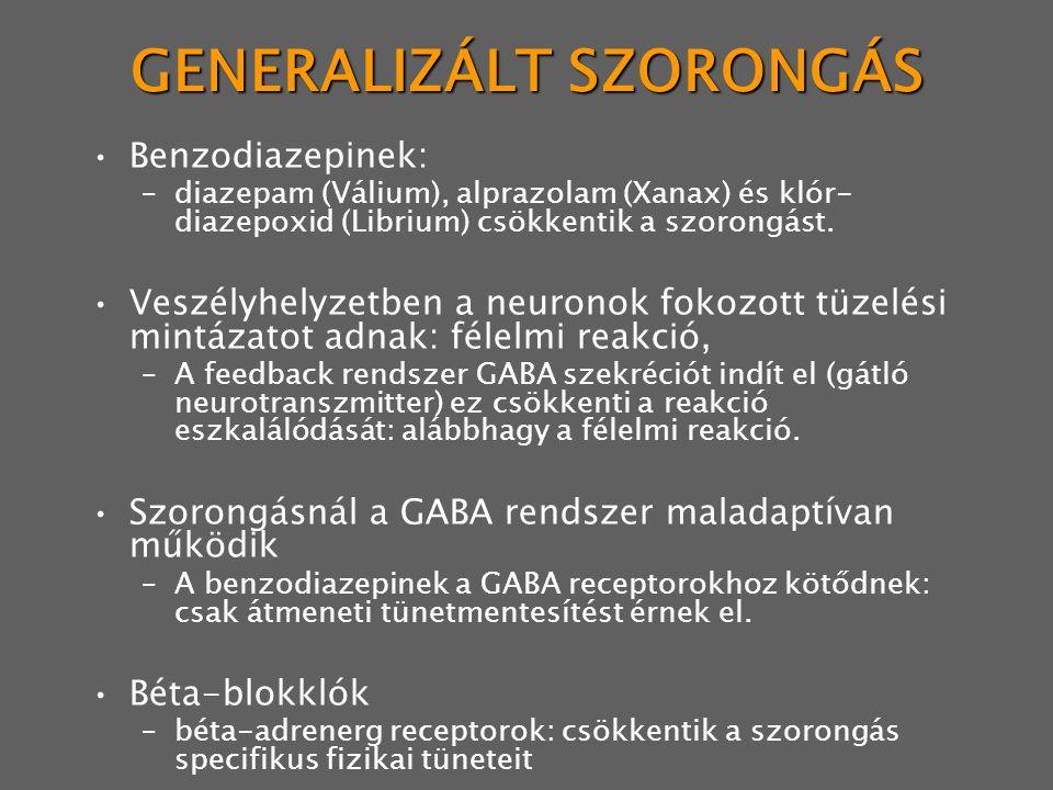 GENERALIZÁLT SZORONGÁS