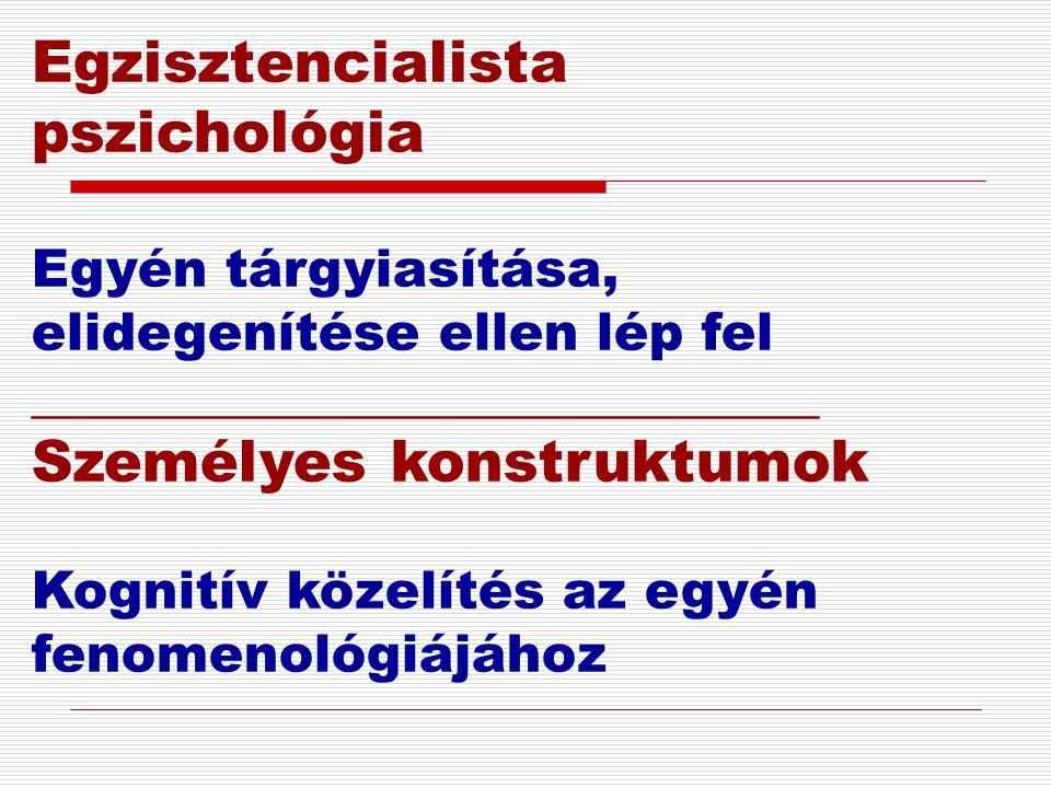 Egzisztencialista pszichológia