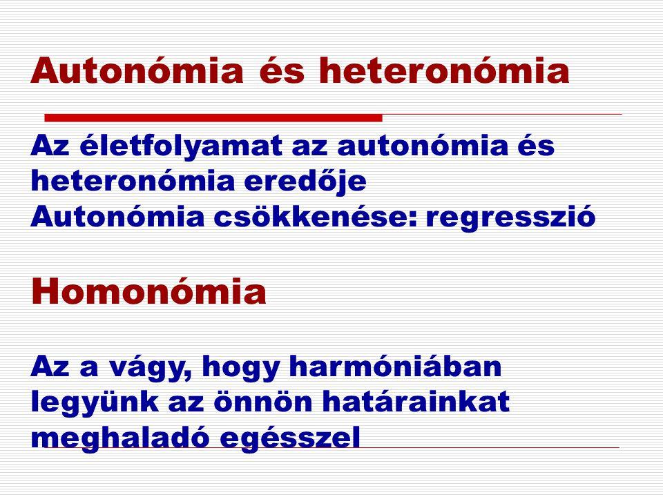 Autonómia és heteronómia