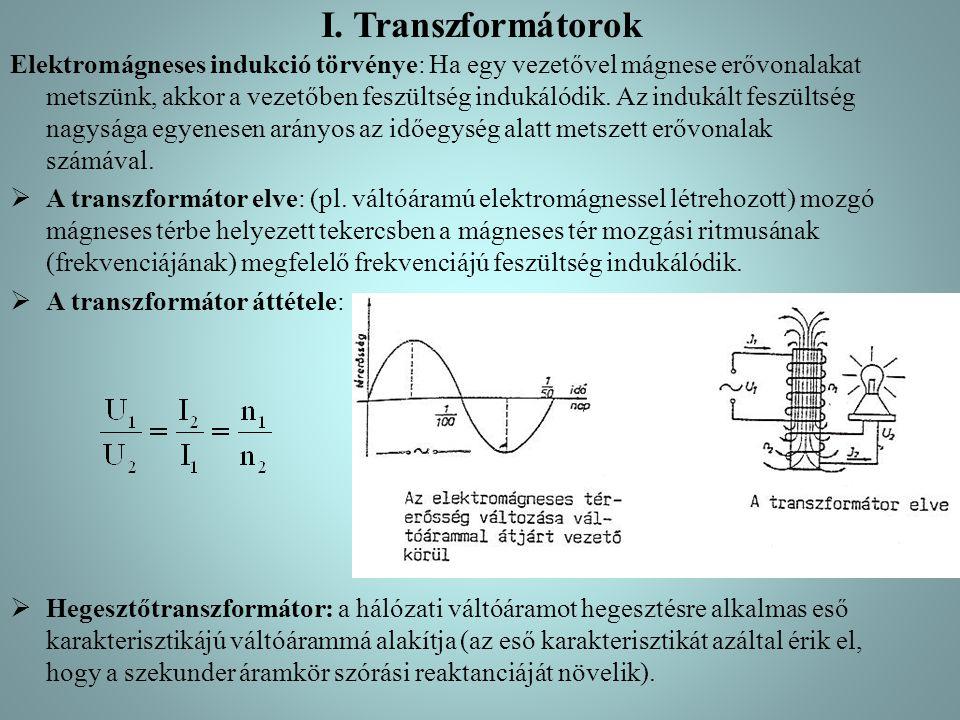 I. Transzformátorok
