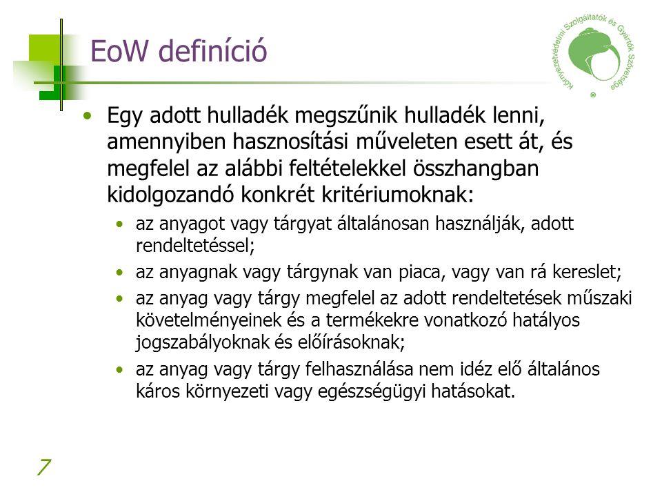 EoW definíció