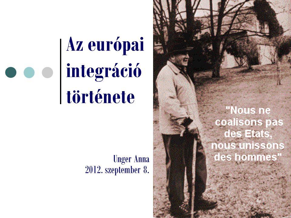 Az európai integráció története