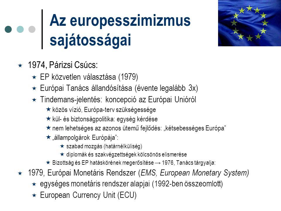 Az europesszimizmus sajátosságai