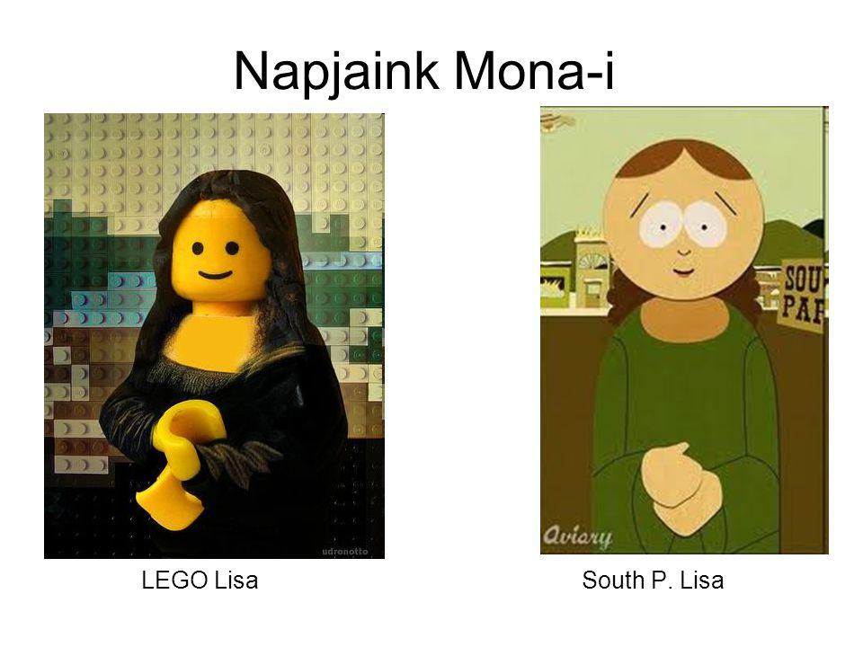 Napjaink Mona-i LEGO Lisa South P. Lisa