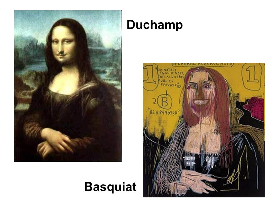Duchamp Basquiat