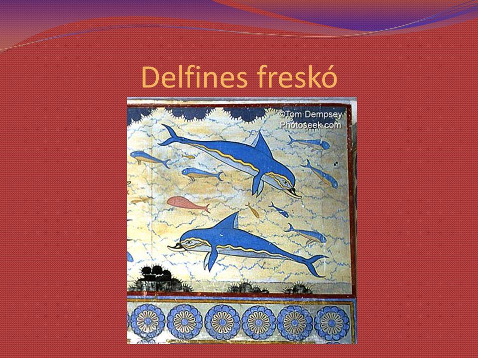 Delfines freskó