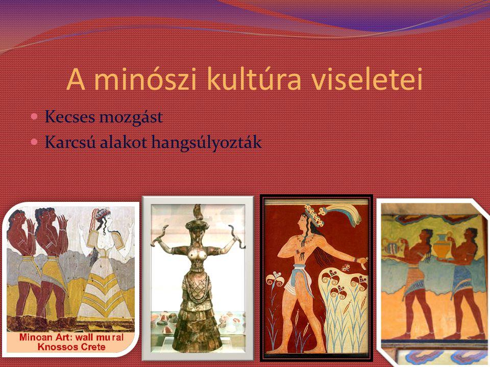 A minószi kultúra viseletei