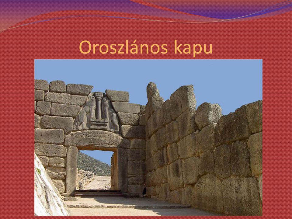 Oroszlános kapu