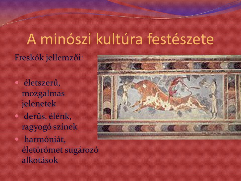A minószi kultúra festészete