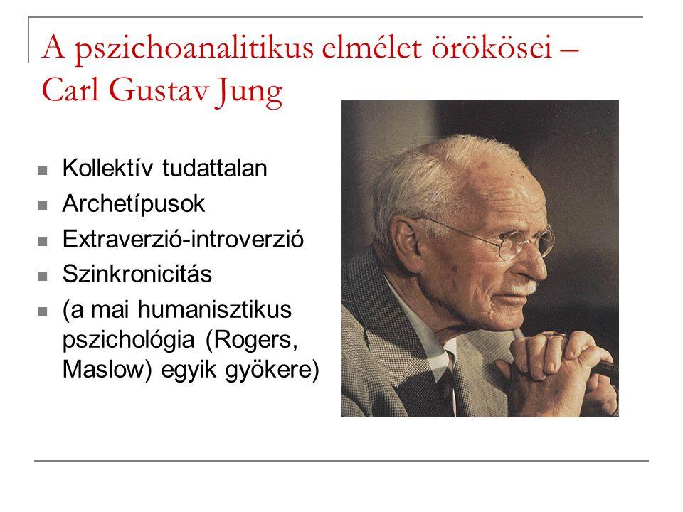 A pszichoanalitikus elmélet örökösei – Carl Gustav Jung