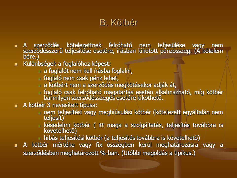 B. Kötbér