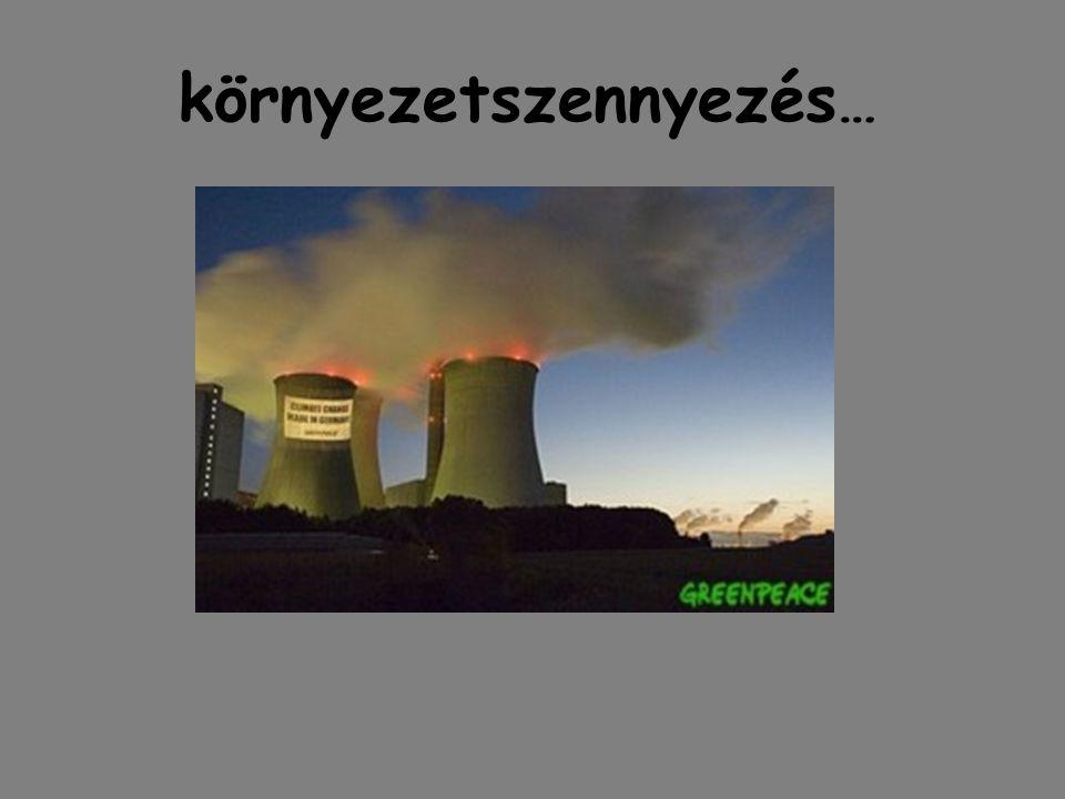 környezetszennyezés…