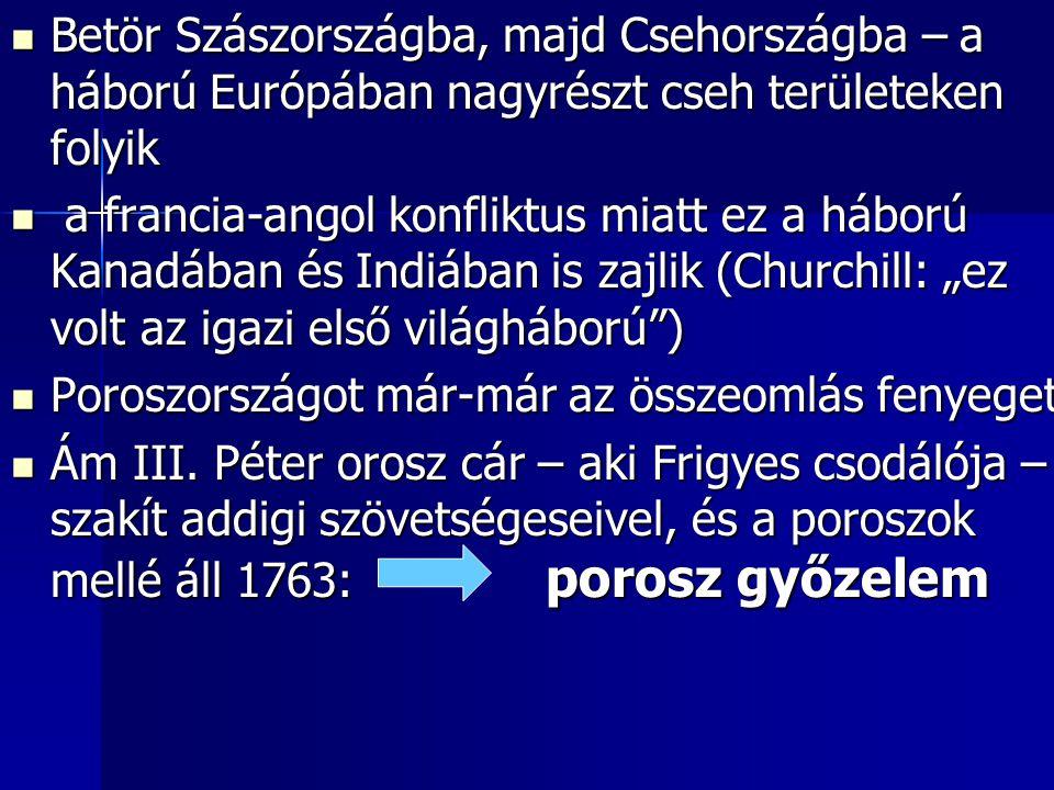 Betör Szászországba, majd Csehországba – a háború Európában nagyrészt cseh területeken folyik
