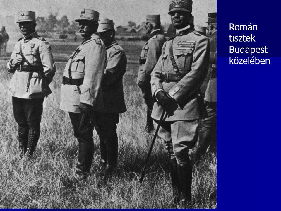 Román tisztek Budapest közelében