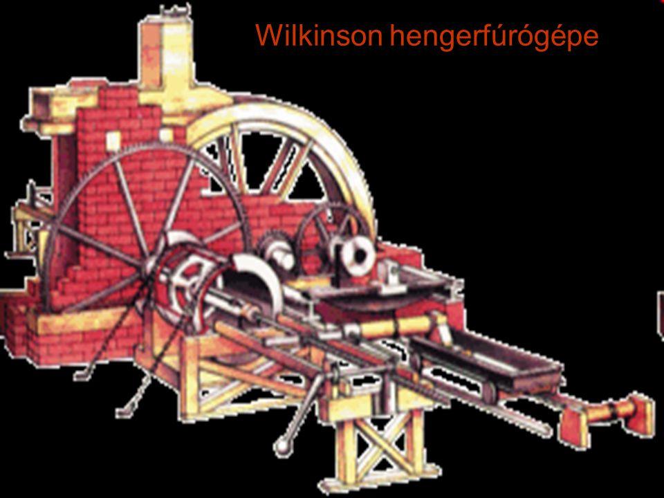 Wilkinson hengerfúrógépe