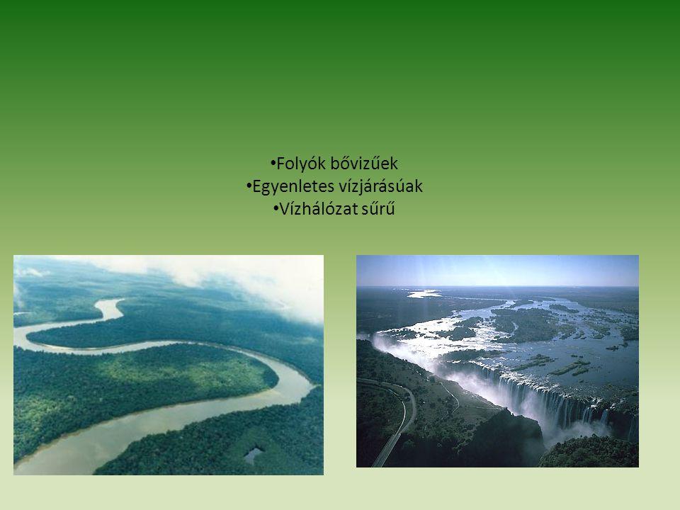 Egyenletes vízjárásúak