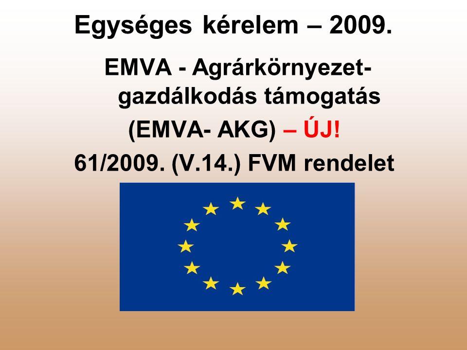 EMVA - Agrárkörnyezet-gazdálkodás támogatás