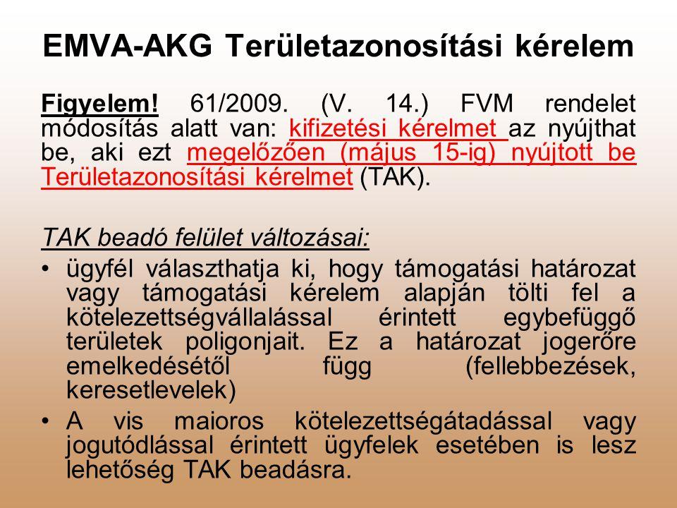 EMVA-AKG Területazonosítási kérelem