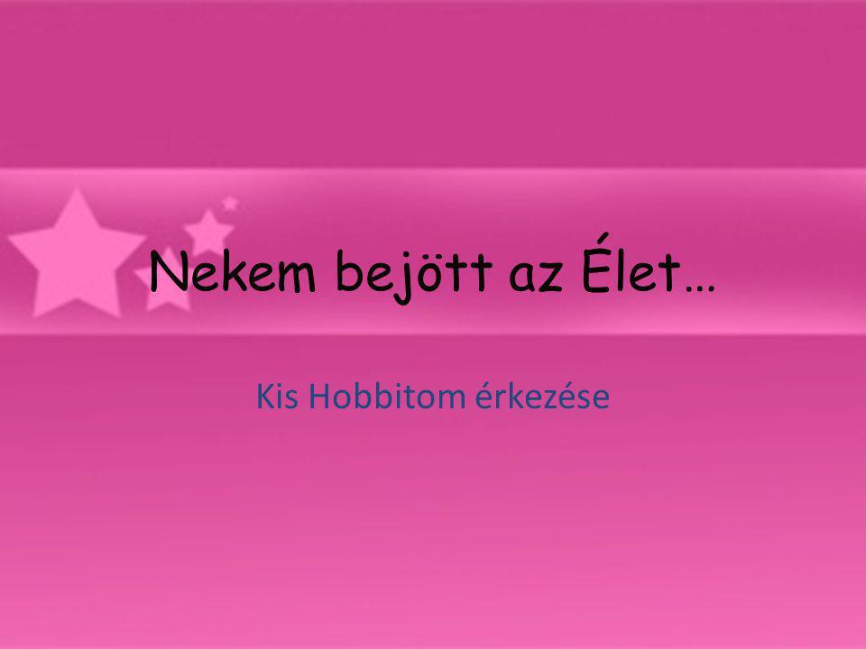 Nekem bejött az Élet… Kis Hobbitom érkezése