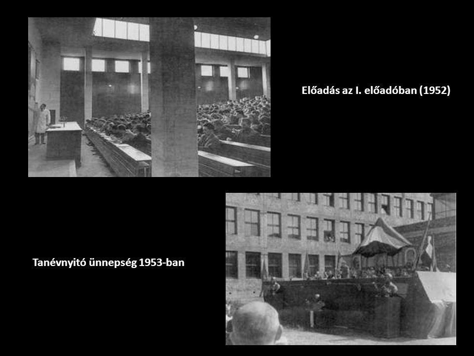 Előadás az I. előadóban (1952)