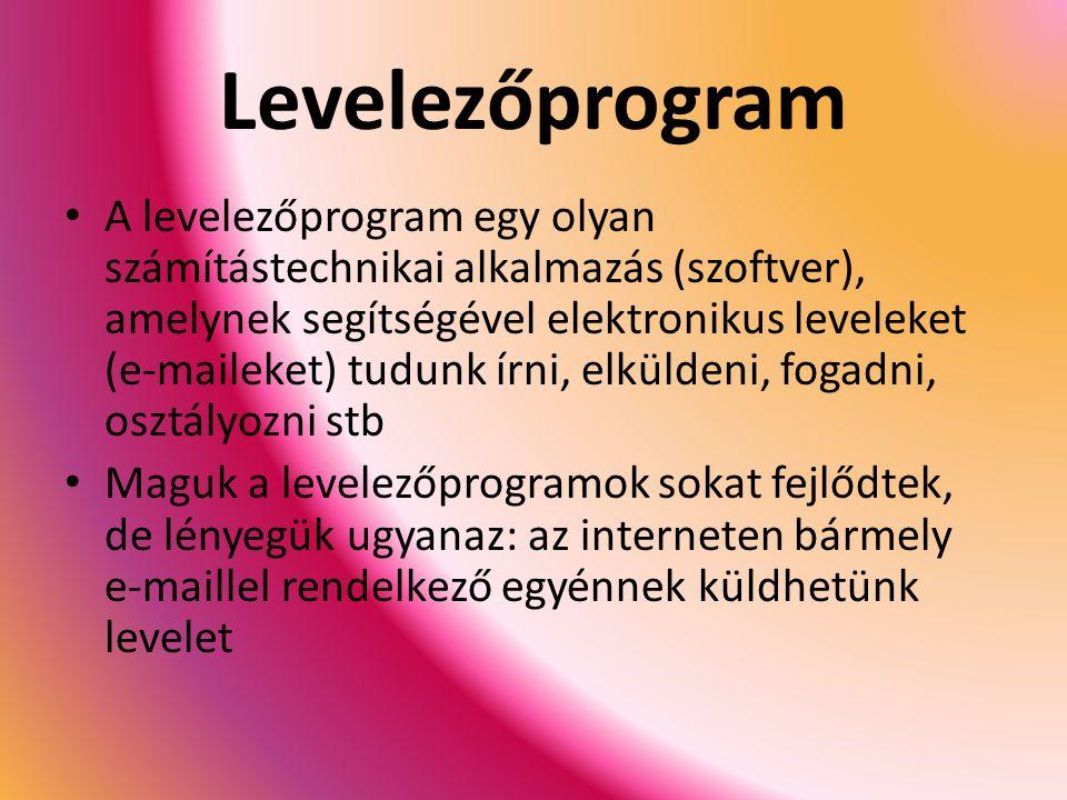 Levelezőprogram