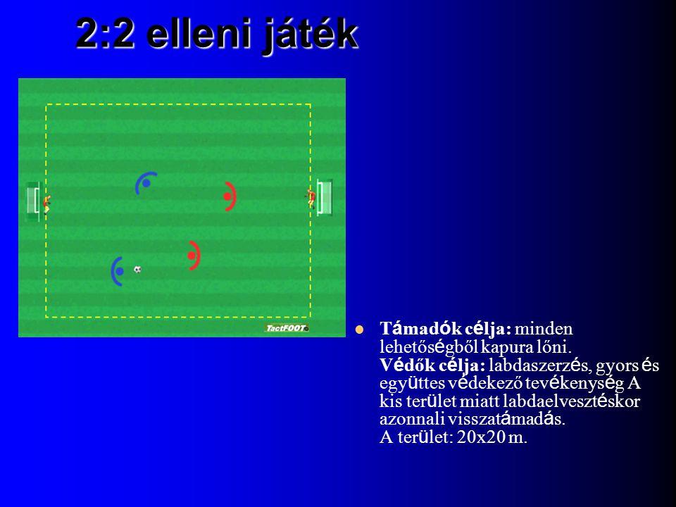 2:2 elleni játék