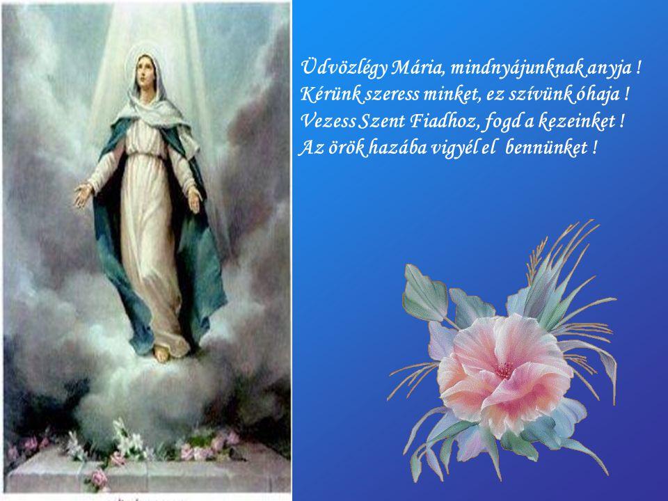 Üdvözlégy Mária, mindnyájunknak anyja