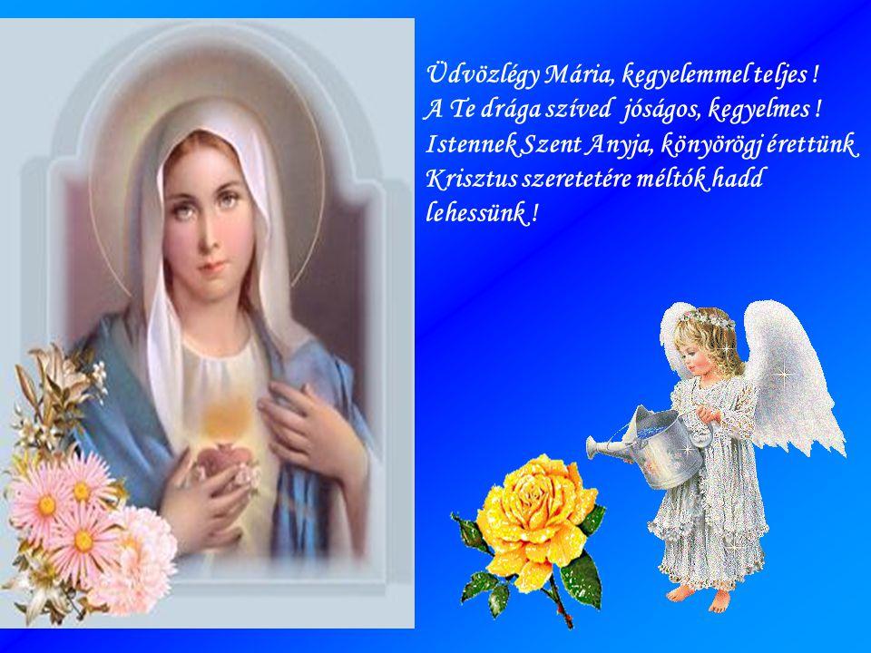 Üdvözlégy Mária, kegyelemmel teljes