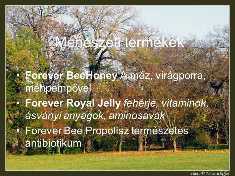 Méhészeti termékek Forever BeeHoney A méz, virágporra, méhpempővel