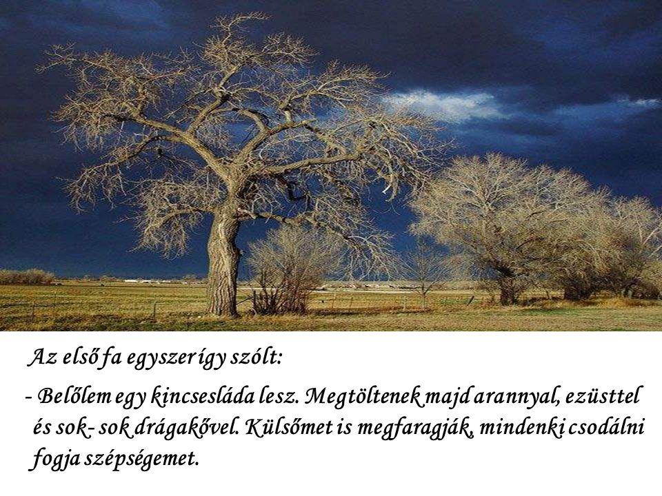 Az első fa egyszer így szólt: