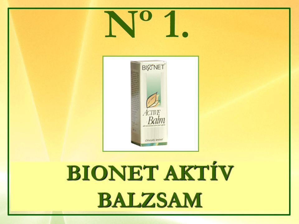 Nº 1. BIONET AKTÍV BALZSAM