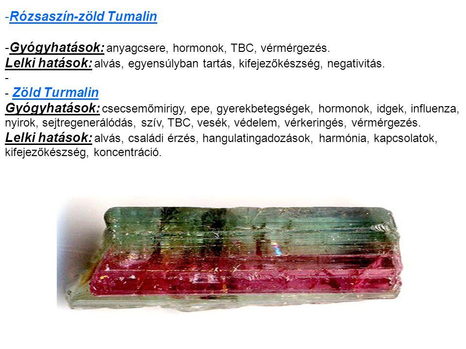 Rózsaszín-zöld Tumalin