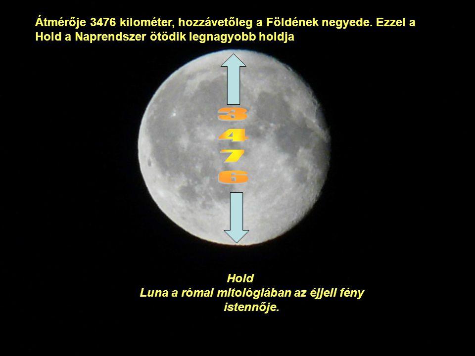 Luna a római mitológiában az éjjeli fény istennője.
