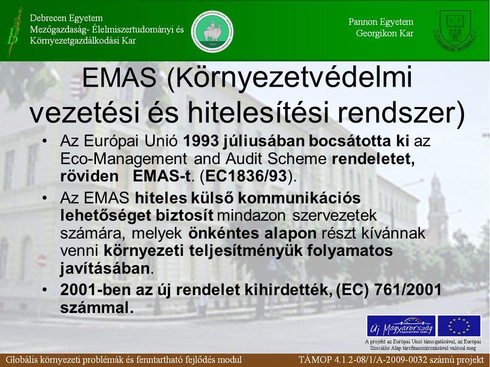 EMAS (Környezetvédelmi vezetési és hitelesítési rendszer)