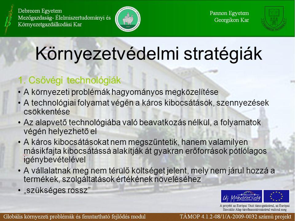 Környezetvédelmi stratégiák