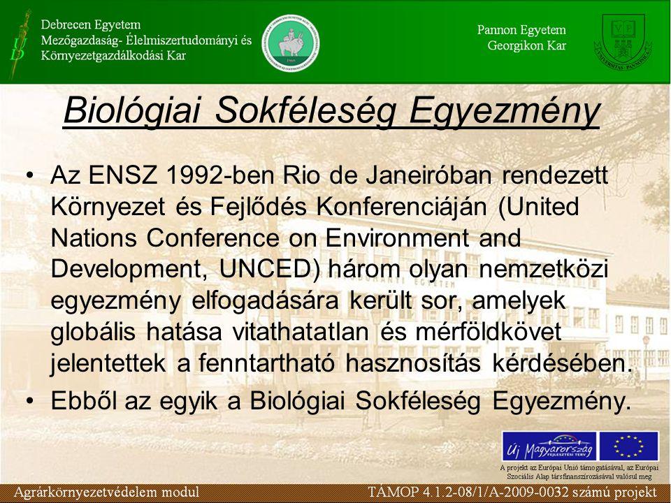 Biológiai Sokféleség Egyezmény