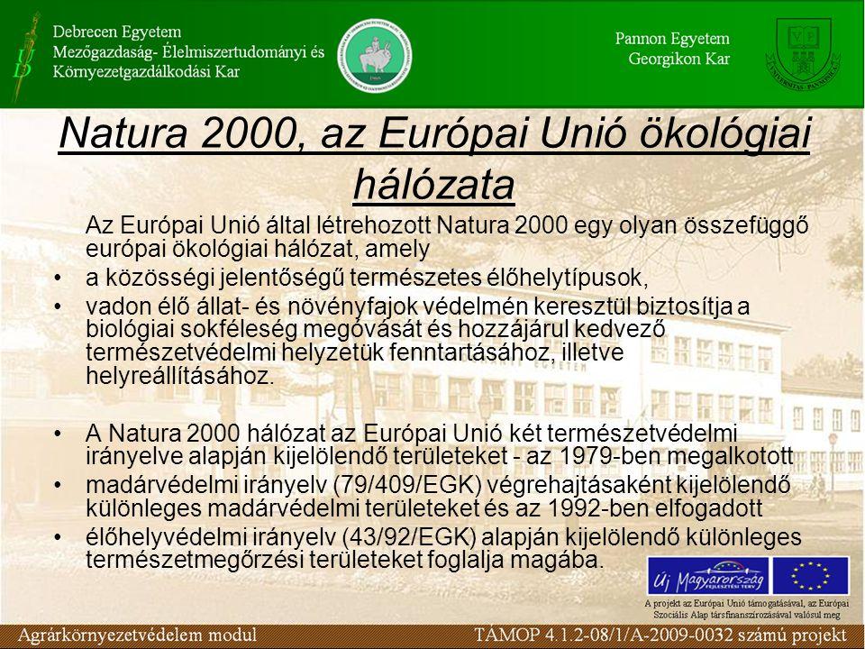 Natura 2000, az Európai Unió ökológiai hálózata