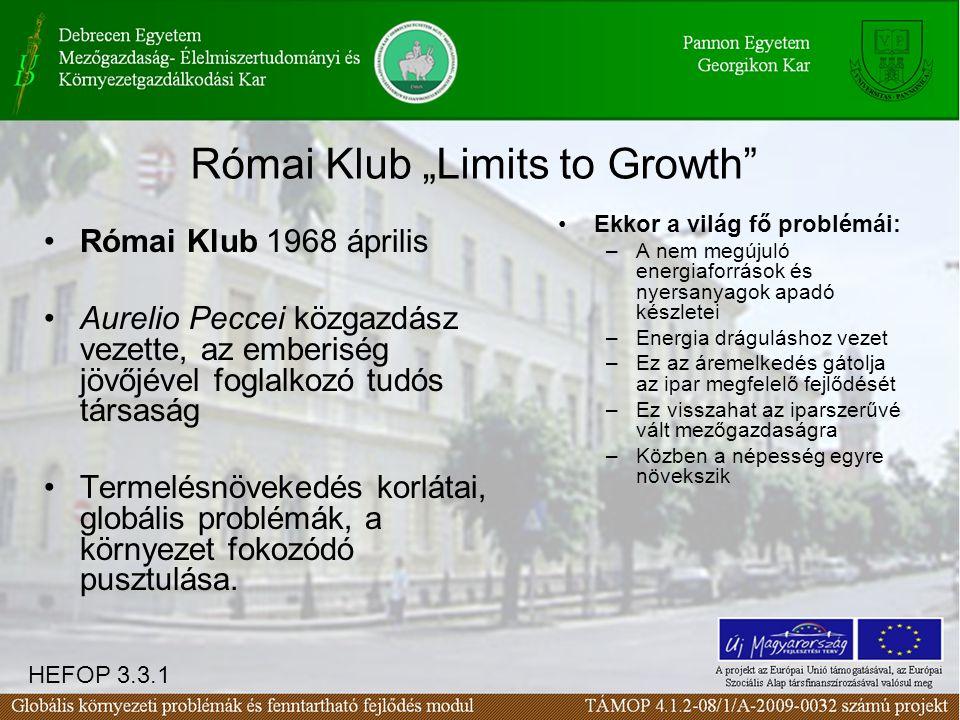 """Római Klub """"Limits to Growth"""